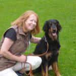 Hundebesitzerin mit Arabella