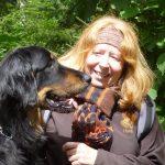 Arabella mit der Hundebesitzerin